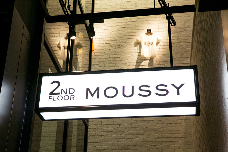 MOUSSY FLAGSHIP SHOP